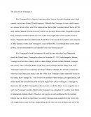 Research Term Paper - the Life of Kurt Vonnegut Jr.