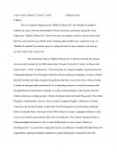 Voices of a People's History of the Us Essay Chapter 15