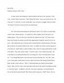 "Analysis of Mr.Carter in John Collier's Short Story ""thus I Refute Beelzy"""