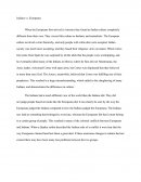 American Spirit Chapter 1 Essay
