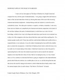 Response Paper on the Heart of Darkness
