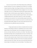 Lord of the Flies Contrast Essay