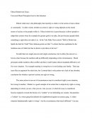 Ethical Relativism Essay - Universal Moral Principles Exist in the Intention