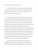 Different Roles of Political Parties - Government Essay