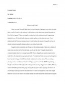 Language Arts Persuasive Essay