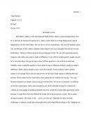 Be Ready to Fail - Critical Essay