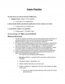 Cpcf 1f95 Exams Practice Paper